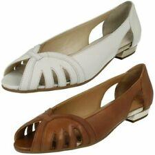 Ladies Van Dal Peep Toe Shoes 'Perry'