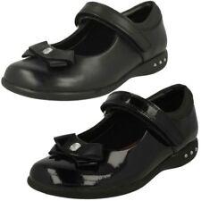 Clarks Girls Bow Detail School Shoes Prime Skip