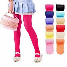 Bambini moda ragazze tinta unita Microfibra Semi-Opaco Calze 40 DENARI