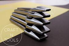 New Vergez Blanchard Oblong Hole Punch for Leather.12 sizes. bag belt strap