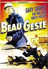 BEAU GESTE (2009 DVD)/GARY COOPER/RAY MILLAND/FULL-SCREEN/SEALED!!