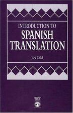 Introduction to Spanish Translation (Paperback or Softback)