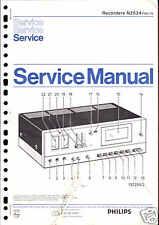Philips original Service Manual grabador n 2534