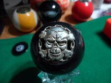 3D Skull & Chain Pool Ball Shifter Transfer Case knob Jeep Wrangler TJ YJ or JK