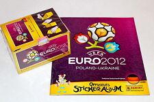 Panini EM EC Euro 2012 12 – 1 x BOX DISPLAY 100 Tüten + Leeralbum ALBUM GERMANY