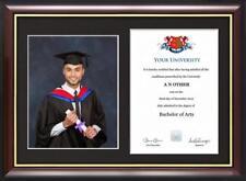 Graduation Certificat et Cadre Photo pour 20.3cmx25.4cm photo et A4 certificat