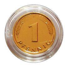 ++ 1 Pfennig / Glückspfennig - 24 Karat vergoldet zum Geburtstag ++