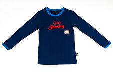 Schiesser Cäptn Sharky langes Jungs Unterhemd Langarmshirt Shir Gr. 116 oder 128