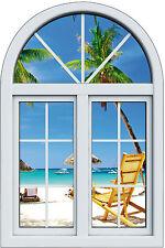 Sticker fenêtre trompe l'oeil Farniente réf 1023
