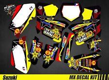 Kit Déco Moto pour / Mx Decal Kit for Suzuki RM 125 / 250 - Protaper