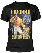 Queen 'Freddie Mercury' (Black) T-Shirt - NEW & OFFICIAL!