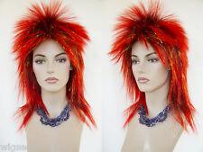 Halloween Medium Long Straight Fun Color Costume Wigs 876