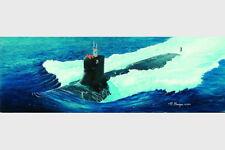 Trumpeter 05904 1/144 USS SSN-21 Sea-Wolf Submarine