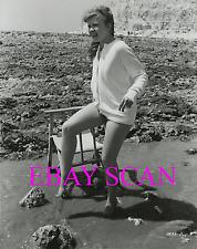 "HAYLEY MILLS 8X10 Lab Photo B&W SEXY LEGS Portrait ""THE CHALK GARDEN"" 1964"
