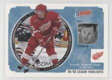 2000-01 Upper Deck Victory #250 Pat Verbeek Detroit Red Wings Hockey Card