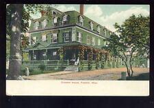 USA Mass FRANKLIN Crescent House PPC