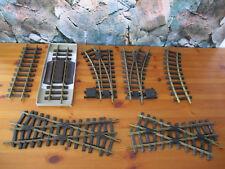 (SRH) LGB Schienen Gleise Gerade 30cm 60cm Gebogen Weiche Kreuzung