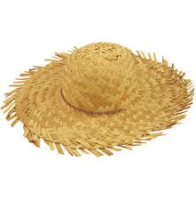 intrecciato Beachcomber Cappello Costume TROPICALE GRANDE PAGLIA hawaiano Luau