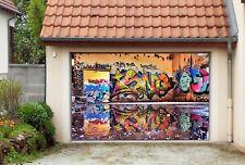 3D Painted Wall 4 Garage Door Murals Wall Print Decal Wall AJ WALLPAPER AU Lemon