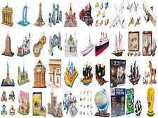 3D Puzzle Freiheitsstatue Petersdom Tower Bridge Eiffelturm Burg Schiff A380 Zug