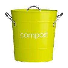 Composteur de, en acier galvanisé (enduit de poudre), intérieure en Plastique Seau