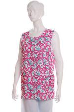 Ladies Womans Floral Ensemble tablier 4 Couleurs Tailles 8 - 30 Overall Bouton throuhg