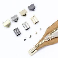 5 Pcs Metal Zipper Stopper Screws End Lock Tail Plug Repair Clip Bag Closure DIY