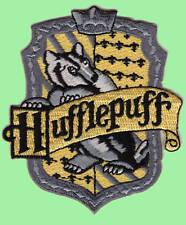 Harry Potter - Hufflepuff Patch - Kostüm Aufnäher gestickt zum aufbügeln