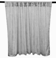 PANNE VELVET SILVER Crush Velour Curtain Drape Panel Back Drop Made In The USA