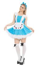 Womens Storybook Alice In Wonderland Film World Book Day Fancy Dress Costume