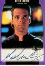 Babylon 5 Season 5 Trading Card Autographed A22 David Corwin