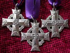 Replica  Copy GV  GVI & ERII Canadian Memorial Crosses FULL SIZE aged