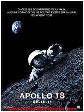 APOLLO 18 Affiche Cinéma / Movie Poster ASTRONAUTE / TERRE / LUNE / ESPACE