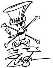 SLASH headstock  VINYL DECAL les paul epiphone gibson sticker guitar guns n rose