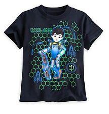 Disney Store Miles From Tomorrowland Niño Camiseta Talla Niño 2/3 & 4 Nuevo
