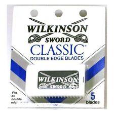 Wilkinson Sword Classic Double Edge Blades 5 ea, Total of 100 blades