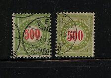 Switzerland   J28,J28a  used     catalog $220.00  Kel1206-2