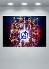 Vengadores Avengers Endgame signature Movie Art Silk Poster 8x12 12x18