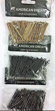"American Dream Hair Accessories 2.5"" waved grips 100 pack"