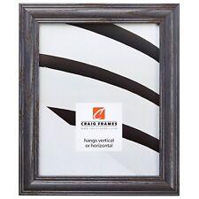 """Craig Frames Wiltshire Ash 440, 1.25"""" Blue Hardwood Picture Frame"""