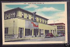 Pulaski, Va - Hotel Pulaski, Linen Postcard ca. 1940's