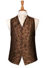 Homme et page garçons designer chocolat tourbillon mariage robe suit gilet