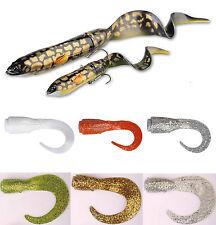 Savage Gear 3d, funda rígida eel provocación Tails 3pcs Combo Pack-tamaño & color wählb.