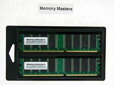 1GB  (2x512MB) 184 pin DDR-333 PC2700 Memory Kit