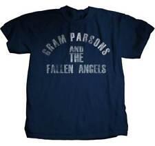 GRAM PARSONS FALLEN ANGELS MOVIE DOCUMENTARY ALBUM METAL ROCK T TEE SHIRT S-XL