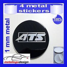 METAL STICKERS WHEELS CENTER CAPS Centro LLantas 4pcs ATS