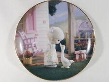 Collectible 1993 Precious Moments Plate - Make A Joyful Noise , with Coa