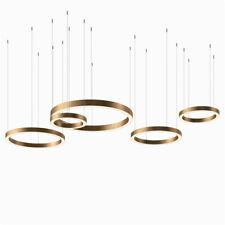Light Ring Horizontal Henge Suspension Lamp LED Hanging Lighting Round Pendant