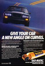 1984 Ford Mustang Monroe Shocks -  Classic Vintage Advertisement Ad A71-B