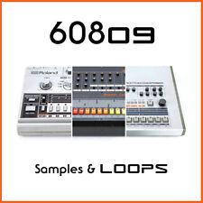 Roland Combined Classic Drum Machine Loops & Samples (24-Bit WAV) 606 808 909